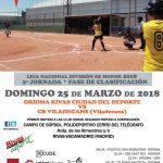 Liga Nacional División de Honor de Sófbol en Rivas