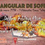 24 de marzo Torneo de Sófbol Mixto en el Cerro del Telégrafo