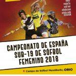 Campeonato de España Sub19 2018 en Orio