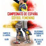 CAMPEONATO DE ESPAÑA SUB 16 DE SÓFBOL
