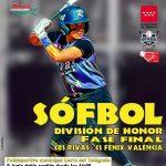 FASE FINAL DIVISIÓN DE HONOR DE SÓFBOL GRUPO I